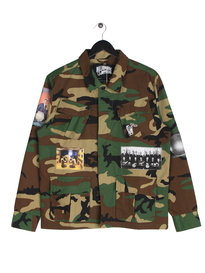 Billionaire Boys Club Military Overshirt Camo