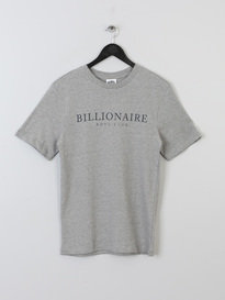 BILLIONAIRE BOYS CLUB MONACO T-SHIRT GREY