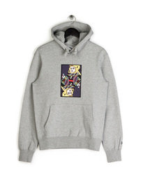 Billionaire Boys Club Omega Patch Popover Hoodie Grey