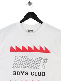 Billionaire Boys Club Oscillating Logo T-Shirt White