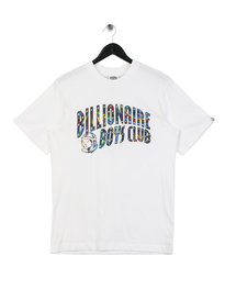Billionaire Boys Club Paisley Arch Logo T-Shirt White