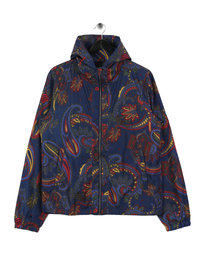 Billionaire Boys Club Paisley Nylon Jacket Blue