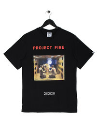 Billionaire Boys Club Project Fire Short Sleeve Logo T-Shirt Black