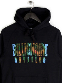 Billionaire Boys Club Scan Graphic Popover Hoodie Black