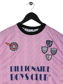Billionaire Boys Club Short Sleeve Soccer T-Shirt Pink
