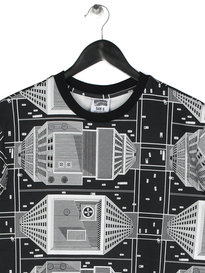 Billionaire Boys Club Skyscraper Print T-Shirt Black