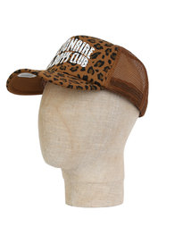 Billionaire Boys Club Leopard Trucker Cap Brown
