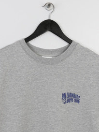 BILLIONAIRE BOYS CLUB SMALL ARCH LOGO CREWNECK GREY