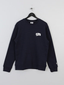 BILLIONAIRE BOYS CLUB SMALL ARCH LOGO CREWNECK NAVY