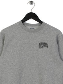 Billionaire Boys Club Small Arch Logo Crew Neck Sweat Grey
