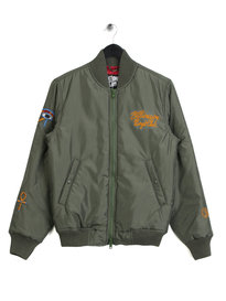 Billionaire Boys Club Souvenir Bomber Jacket Green