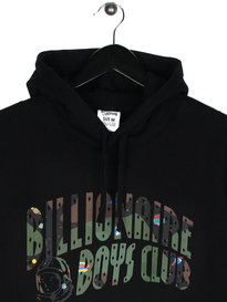 Billionaire Boys Club Space Camo Arch Logo Pover Hoody Black