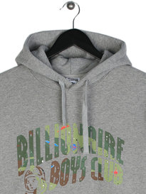 Billionaire Boys Club Space Camo Arch Logo Hoody Grey
