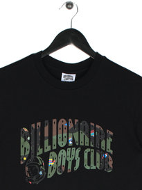 Billionaire Boys Club Space Camo Arch Short Sleeve Logo T-Shirt Black