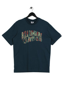 Billionaire Boys Club Reflective Lizard Camo Arch T-Shirt Blue