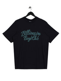 Billionaire Boys Club Script T-Shirt Navy