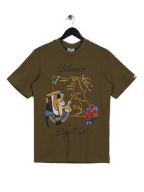 Billionaire Boys Club Souvenir Map T-Shirt Green