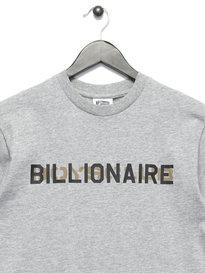 Billionaire Boys Club Stencil Logo T-Shirt Grey