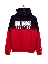 Billionaire Boys Club Straight Logo Popover Hoodie Red