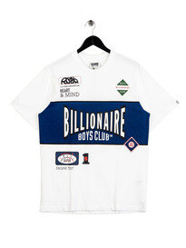 Billionaire Boys Club Track Team T-Shirt White
