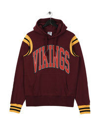 Billionaire Boys Club Vikings Varsity Popover Hoodie Burgundy