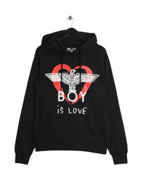BOY London BOY Is Love Hoodie