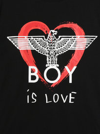 BOY London BOY Is Love Sweater Black