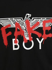 BOY London Fake T-Shirt Black