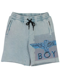 Boy London Glitch Short Blue