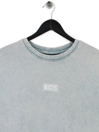 Boy London Glitch Sweat Blue
