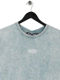 Boy London Glitch T-Shirt Blue
