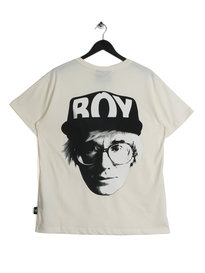BOY London Visual T-Shirt Off White