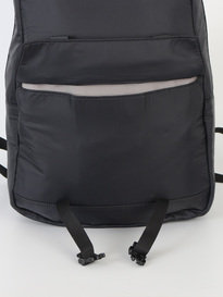 C6 New Simple Pocket Backpack Black