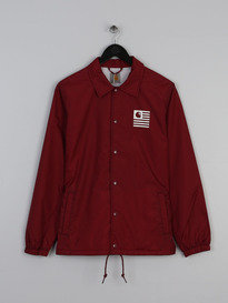 CARHARTT STATE COACH JACKET RED