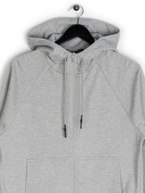 Y-3 Zip Hooded Sweat Grey