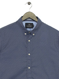 Scotch & Soda Classic Long Sleeve Shirt Blue