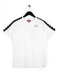 Kappa Coen Slim T-Shirt White