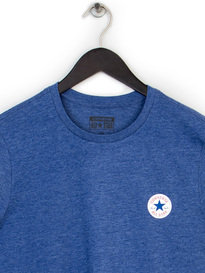 CONVERSE CORE LEFT CHEST PATCH CREW TEE BLUE