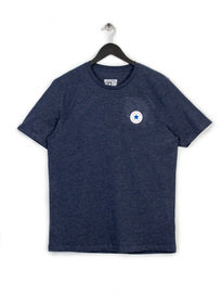 CONVERSE CORE LEFT CHEST PATCH CREW TEE NAVY