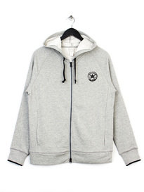 CONVERSE CORE PLUS TWO WAY HOODY GREY