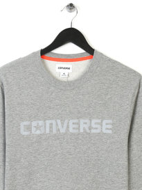 Converse Reflective Icon Crew Grey