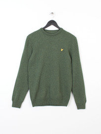CREW NECK LAMBSWOOL 7GG 028 GREEN