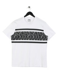 Diadora All Over Logo T-Shirt White