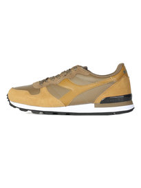 Diadora Camaro Leather Trainers Brown