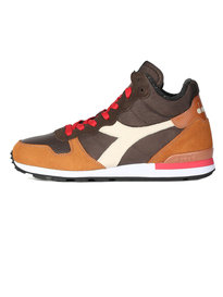 Diadora Camaro Mid Trainers Brown