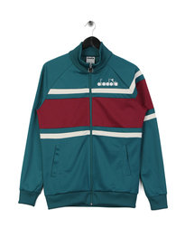 Diadora Jacket 80s Multicoloured Green