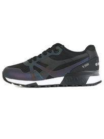 Diadora N9000 MM Hologram Trainers Black