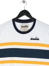 Diadora Short Sleeve T-Shirt White