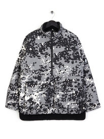 Ark Air Double Skinny Camo Jacket Grey