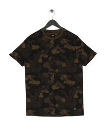 Edwin Camo Short Sleeve T-Shirt Green